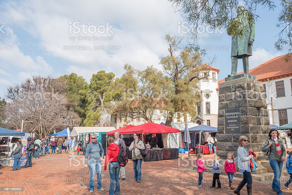 Free State Art Festival stock photo