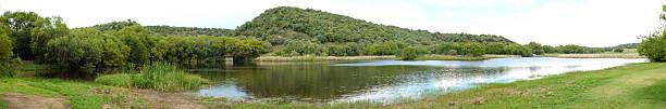 Free State Botanical Gardens in Bloemfontein, South Africa stock photo
