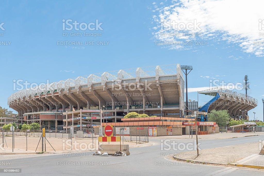 Free State Rugby Stadium stock photo