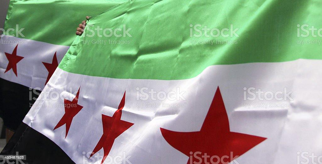 Bandera de siria, Siria - foto de stock