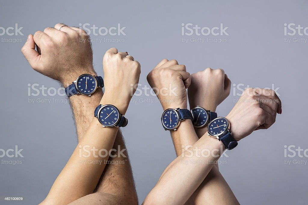 Free time and team spirit stock photo