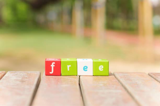 free, word - kostenlose webseite stock-fotos und bilder
