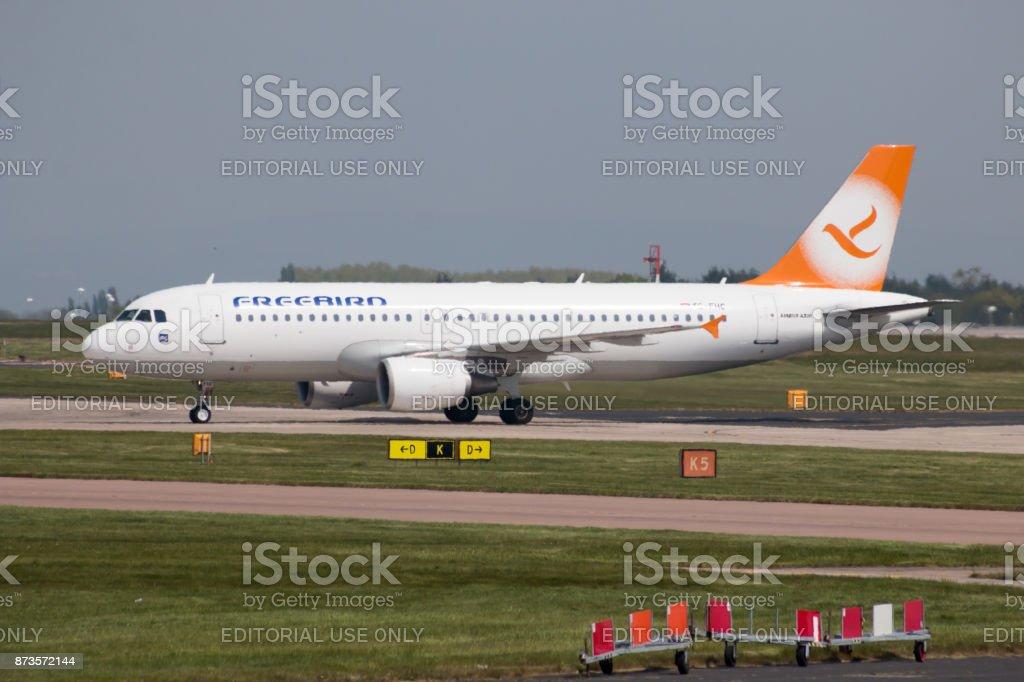 Freebird Airlines A320 Stock Fotografie Und Mehr Bilder Von Abschied