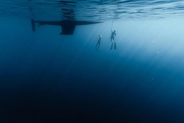 freedivers - kiel stock-fotos und bilder