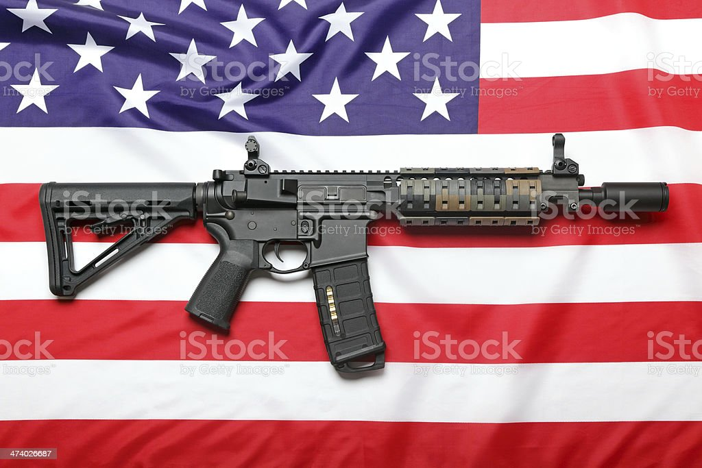 Freedom And Protection stock photo
