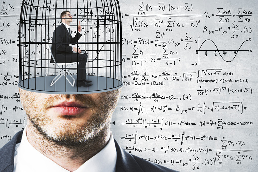 Freedom And Science Background Stock Photo - Download Image Now