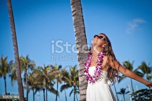 istock Freedom feelings. Celebrating the summer 525297663