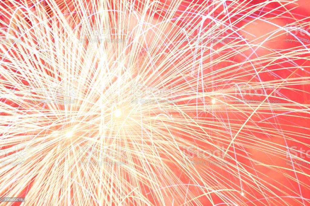 Freedom Festival Fireworks stock photo