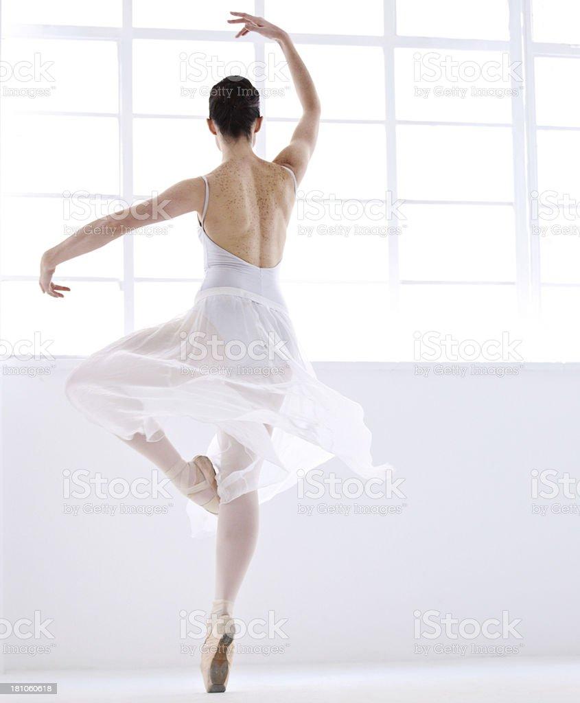 Freedom in dance stock photo