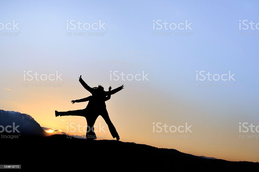 freedom in two royalty-free stock photo