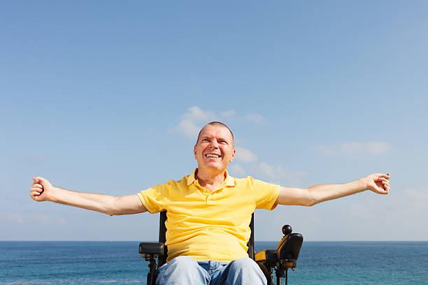 Freiheit im Rollstuhl – Foto