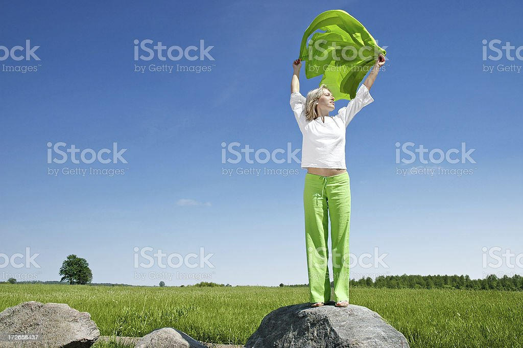 Freedom is everything royalty-free stock photo