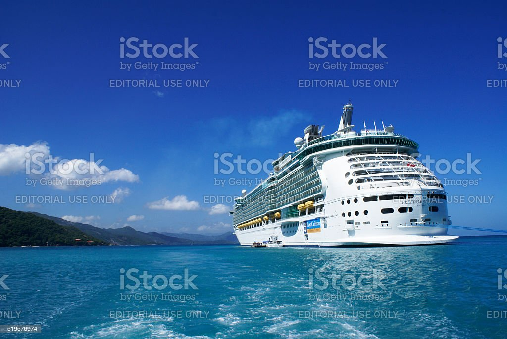 Freedom of the Seas stock photo