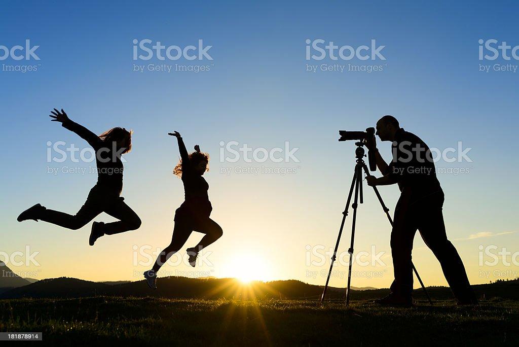 freedom shoot royalty-free stock photo
