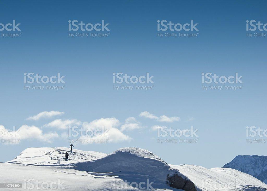 Skieurs la Liberté - Photo