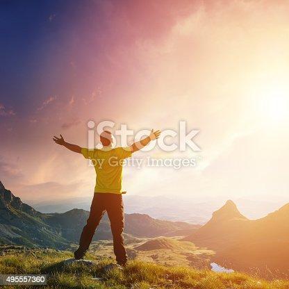 istock Freedom. Spirituality concept. 495557360