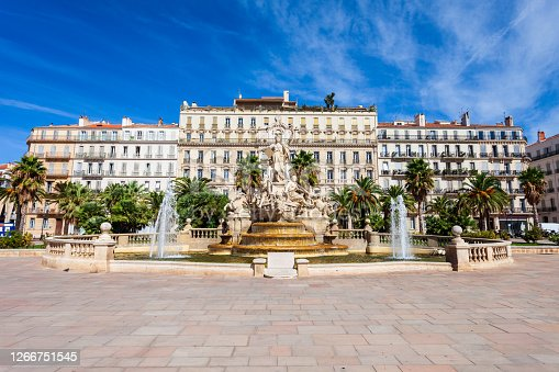 istock Freedom Square in Toulon, France 1266751545