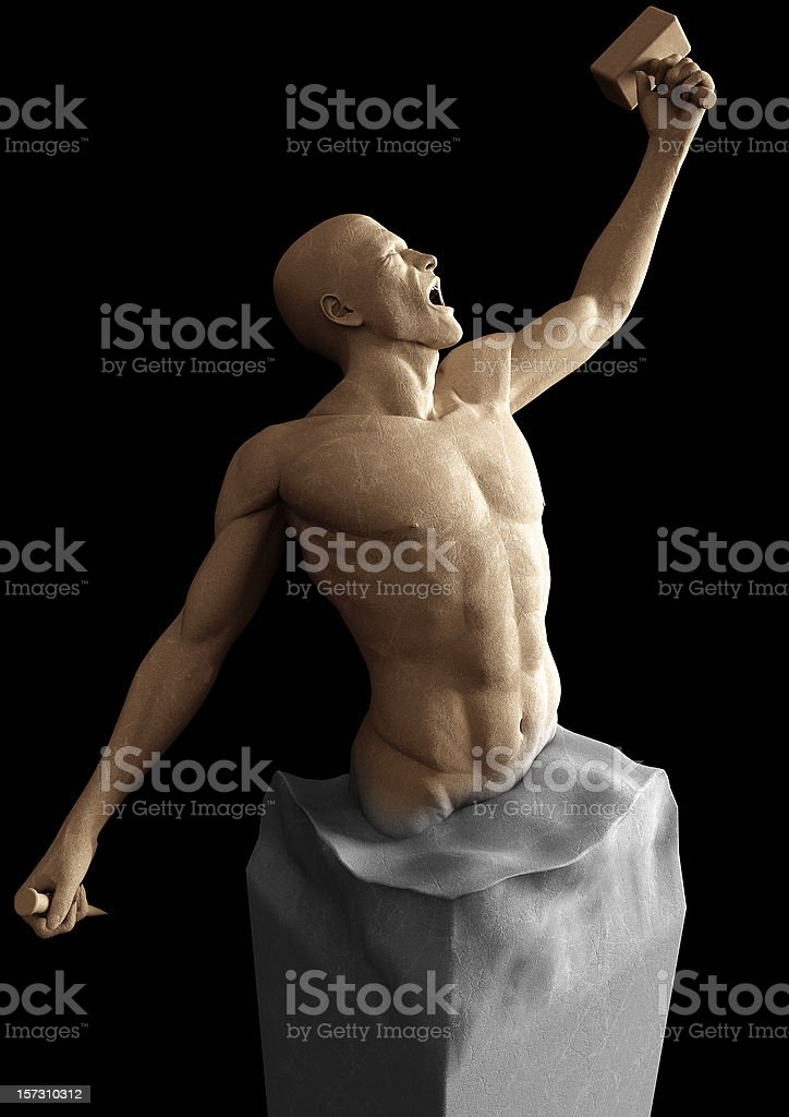 Freedom Statue stock photo