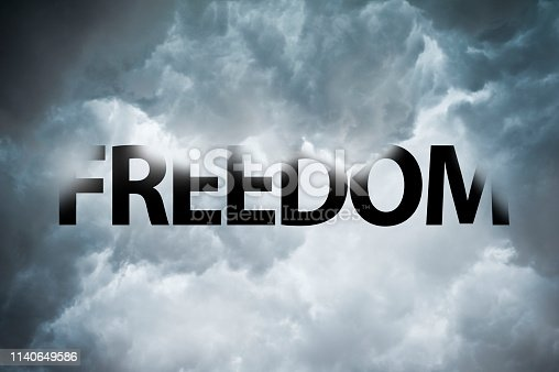 1068588904 istock photo Freedom thunderstorm (Click for more) 1140649586