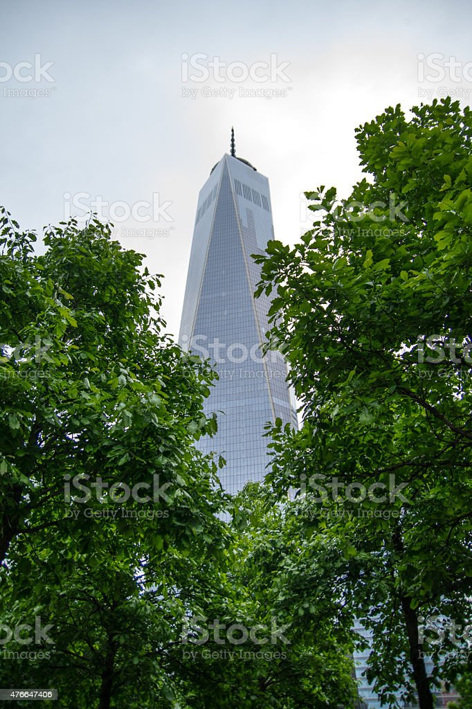 Freedom Tower in New York stock photo