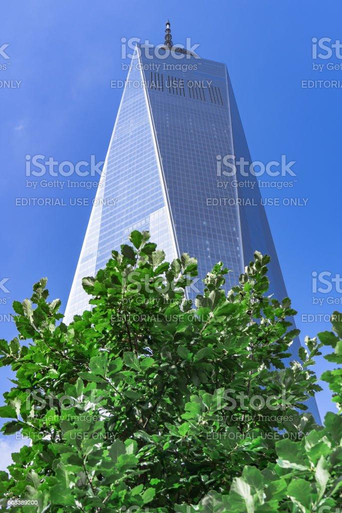 Freedom Tower One World Trade Center In New York City Usa Stockfoto