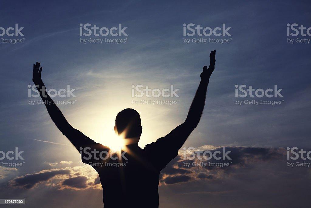 Freedom,Faith & Hope stock photo
