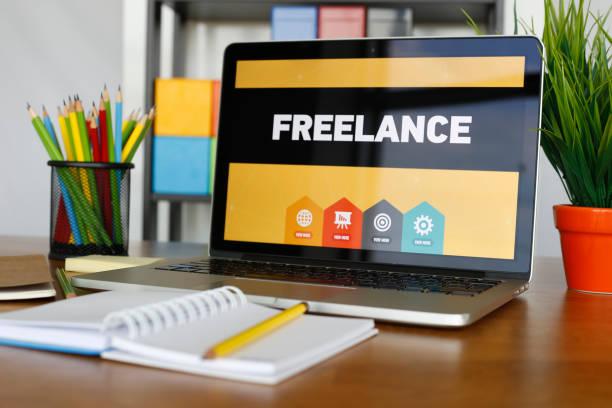 freelance konzept - kostenlose webseite stock-fotos und bilder