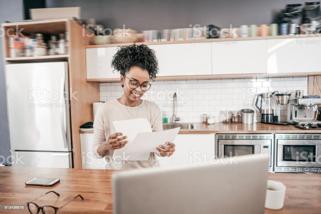 Freelancer and taxes stock photo