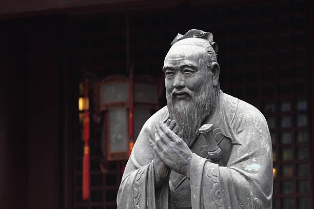 Statue des Konfuzius – Foto