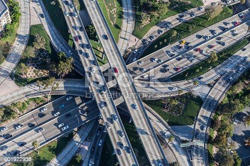 istock Freeway Interchange in Downtown Los Angeles 601922938