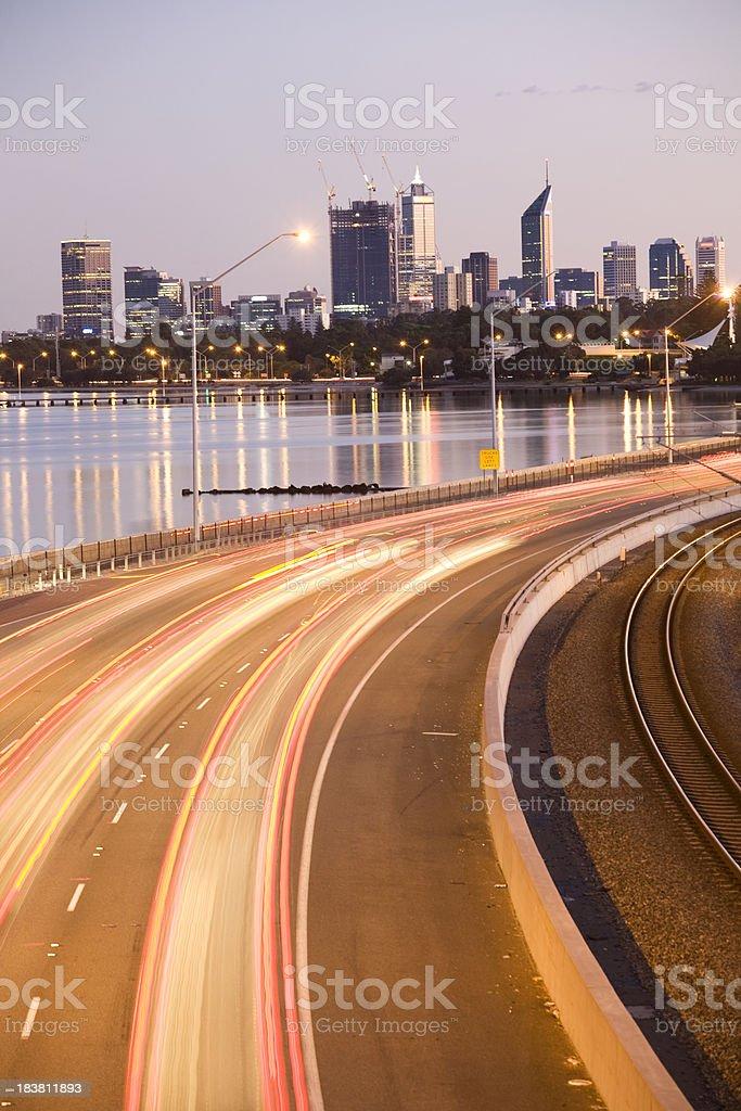 Freeway die Stadt – Foto