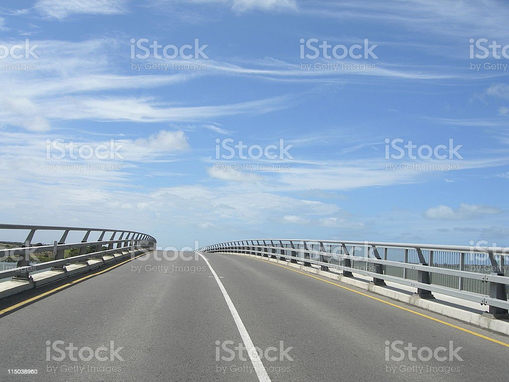 Freeway to heaven stock photo