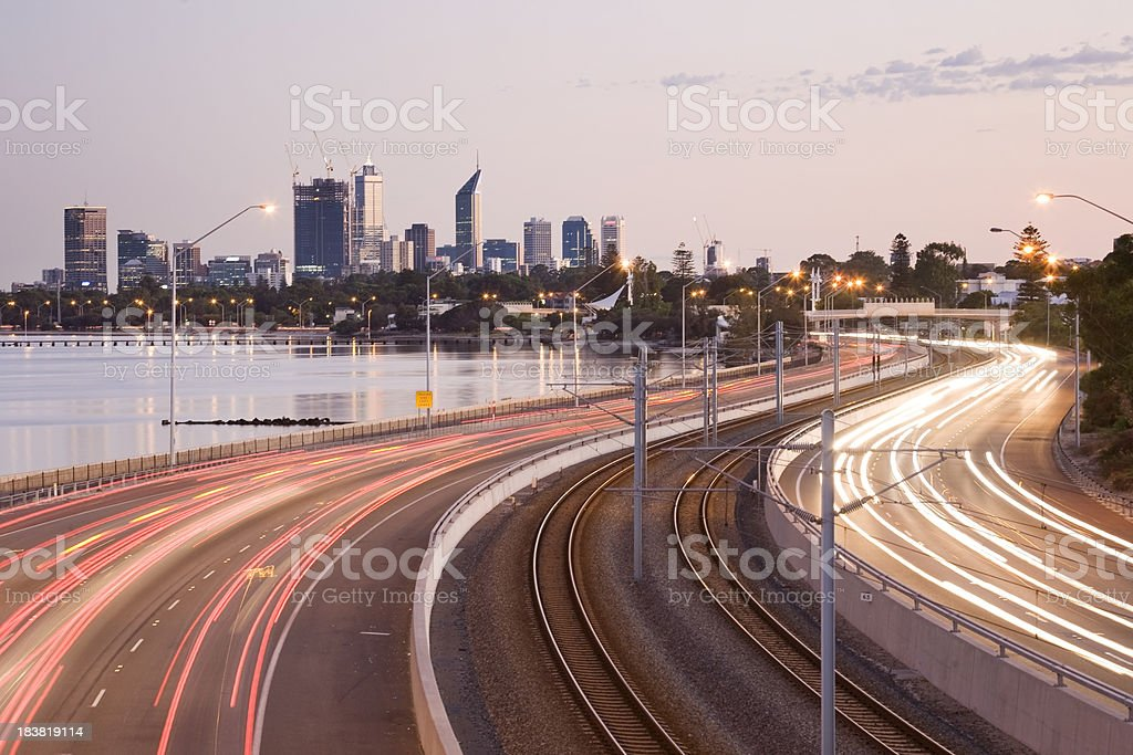 Freeway in Perth – Foto
