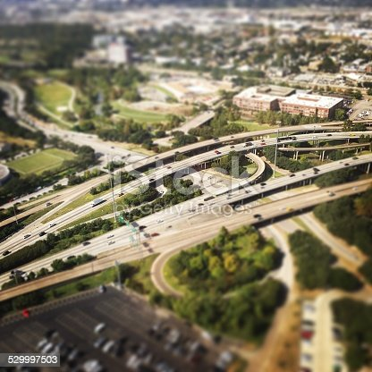 94502198istockphoto Freeway traffic in downtown Houston 529997503