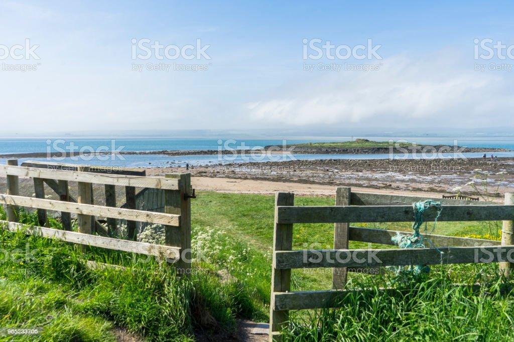 Freeze Frame Country and Beach Scene zbiór zdjęć royalty-free