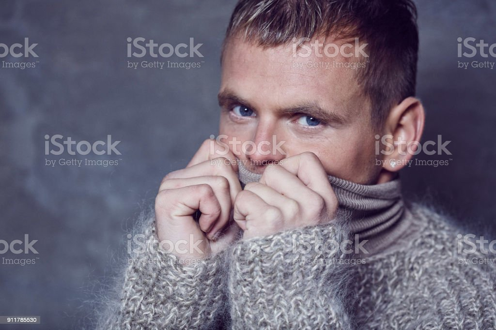 Mensch eingefroren