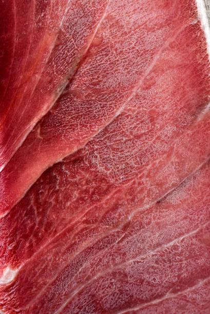 Freezing Tuna meat Background – Foto