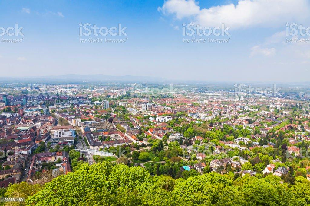 Freiburg im Breisgau city, Germany stock photo