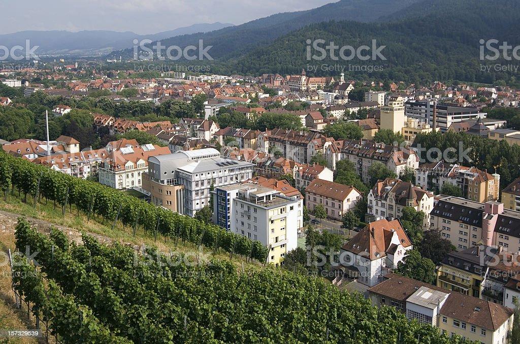 Freiburg im Breisgau royalty-free stock photo
