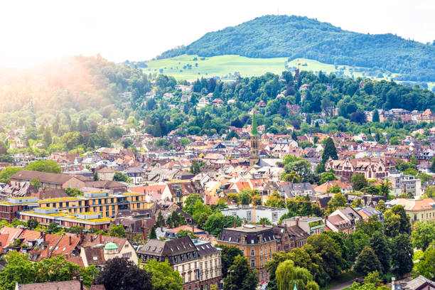 Freiburg in Germany stock photo