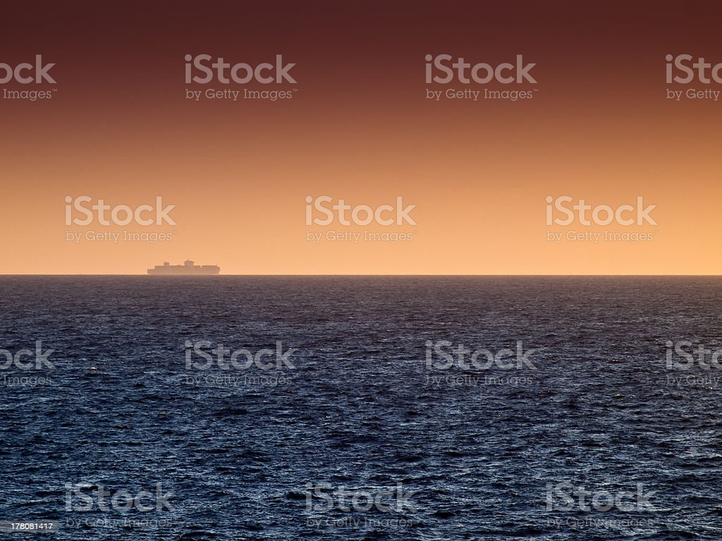 Freight and Cargo Shipping royalty-free stock photo