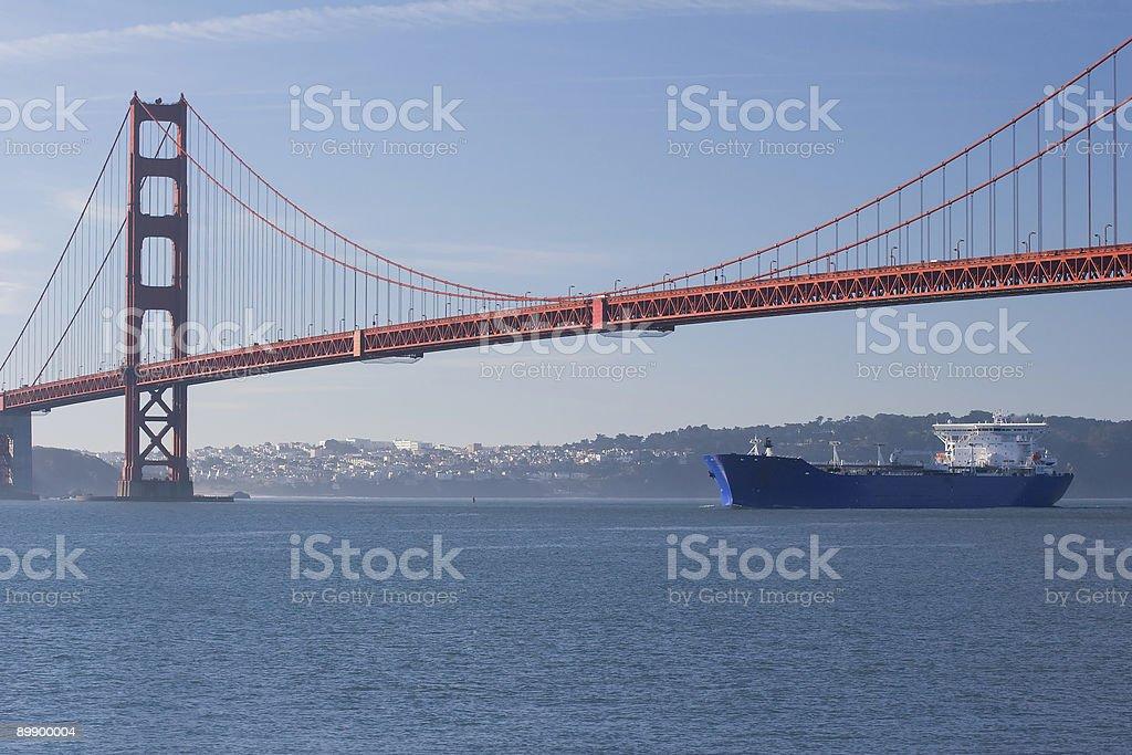 Freight Bridge royalty-free stock photo
