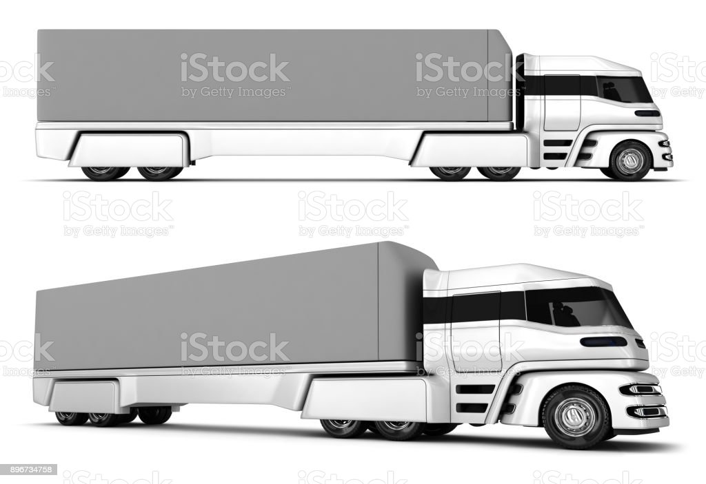 Freight car. Electromobile stock photo