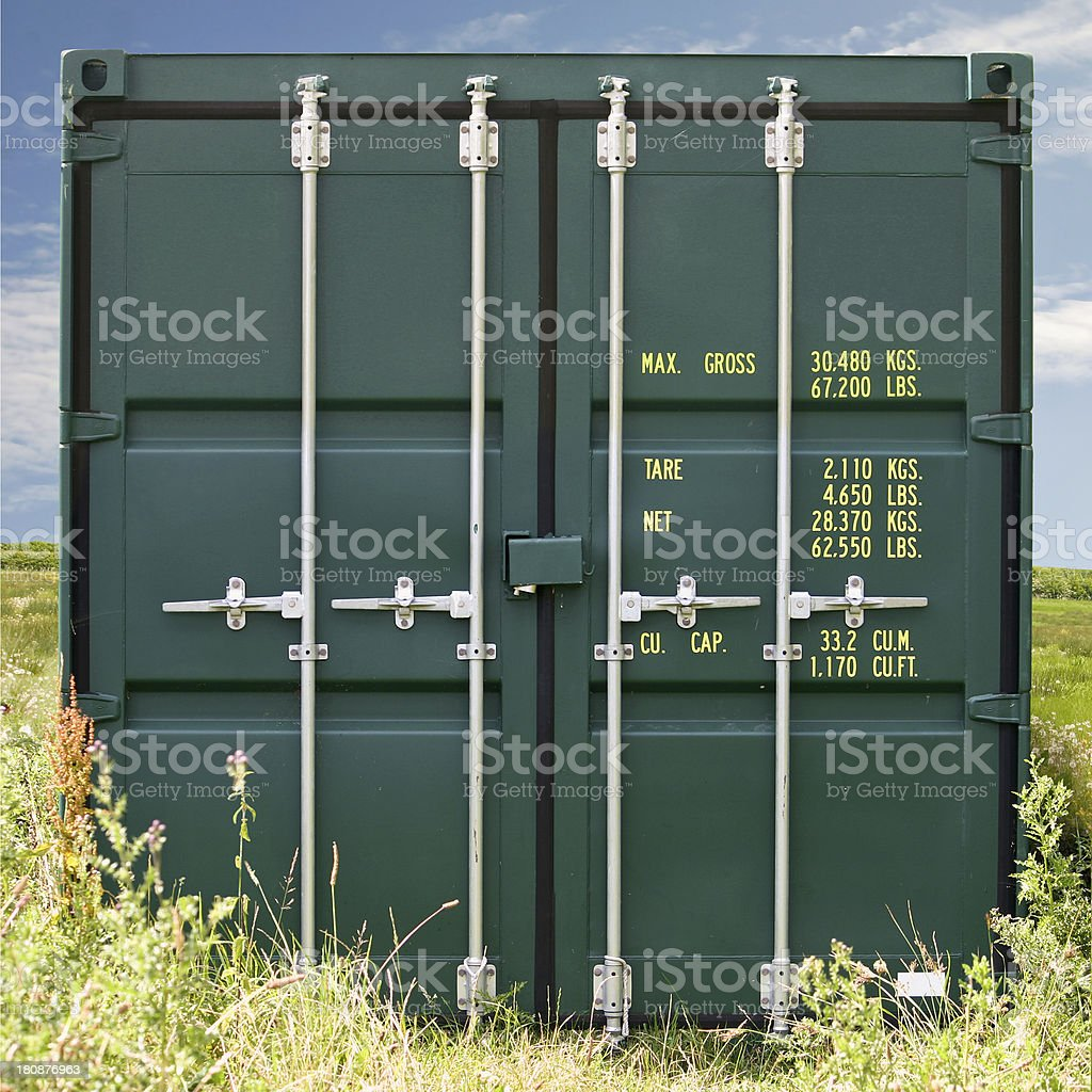Freight Container royalty-free stock photo