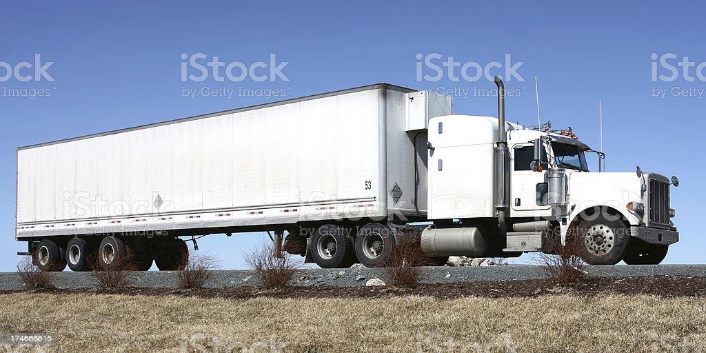 Freight Hauler royalty-free stock photo