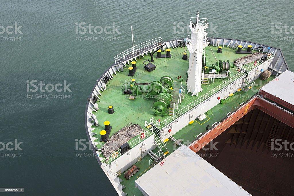 Freight ship stock photo
