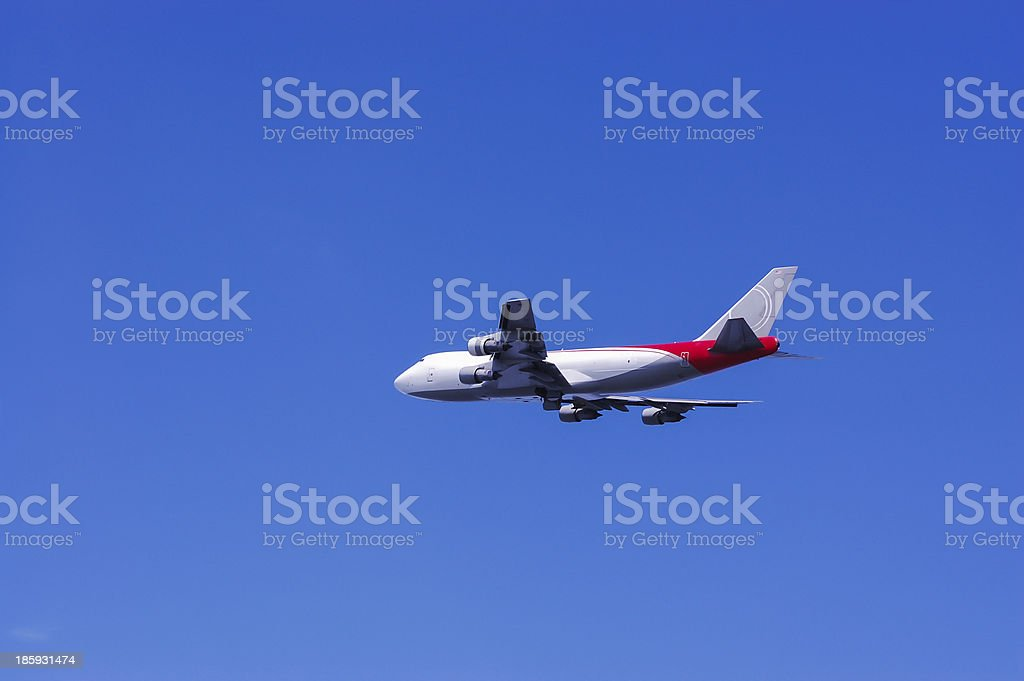 Freighter cargo plane royalty-free stock photo