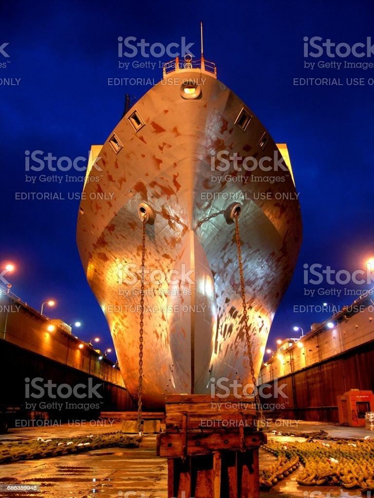 Freighter 'Paris Jr' stock photo