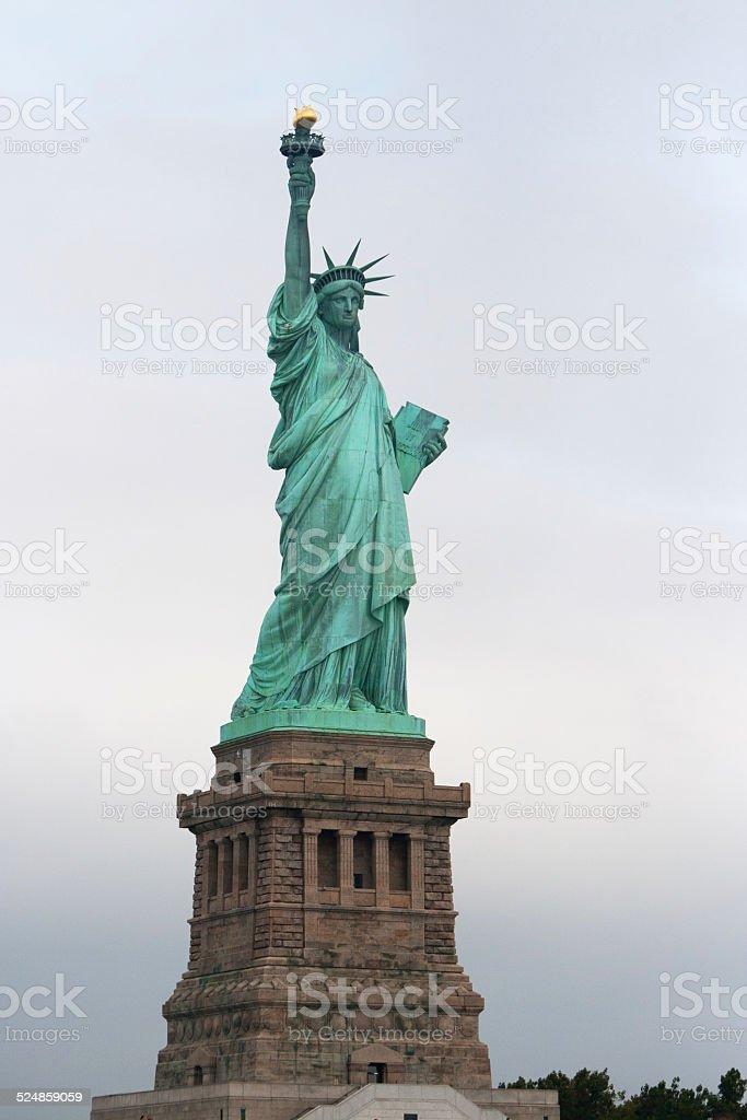Statue of liberty replica New York Lizenzfreies stock-foto