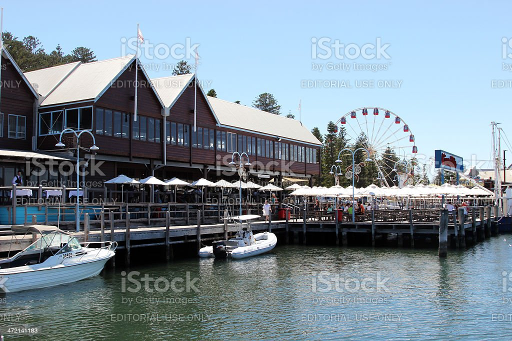 Fremantle Fishing Boat Harbour stock photo